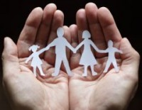 hands w family cutout