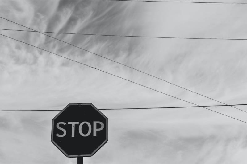 stop sign against cloudy sky - keeping kids safe from sexual abuse